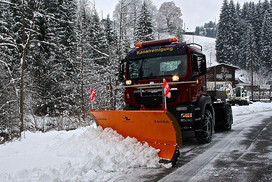 Winterdienst  Winterdienst - Rufener Kanalreinigung AG